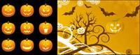 Halloween Pumpkin mat��riel Vector