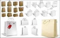 shopping bag, sacs papier, sac en papier kraft