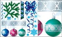D��coration de Noël mat��riel Vector