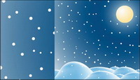 Snow material Vector -2