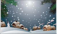 Snow material Vector -1