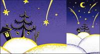 Lovely Christmas Vector illustration