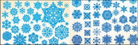 material vector copo de nieve -1