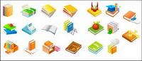 Dr. gorras, manzanas, estanter¨ªas, e-libro, la clave de la Biblia