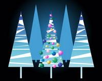 Lovely vecteur Christmas Tree Material