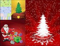 Grußkarten, Umzugskartons, Weihnachtsgeschenke, Schilde Vektor