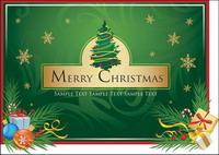 Botas de Navidad, hojas sueltas, tarjetas de Navidad