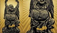 Bouddha mat��riel Vector