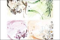 Kapok, le saule, le vecteur de fleurs de saule