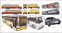 autobuses de vectores