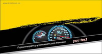 de mat��riaux alternatifs vecteur indicateur de vitesse