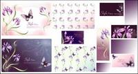 mat��riel Vector fleur fantaisie -17