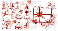 Vector designs and decorative patterns material