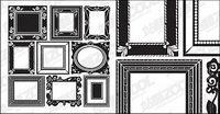 Capacit�� de cadre dentelle vecteur mat��riel
