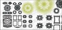 Vector Stil Sicherheit Zeilen Textur Material-3