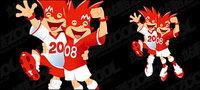 La mascotte de la Coupe d