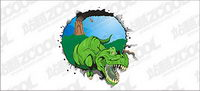 Dinosaurier-Vektor-Material