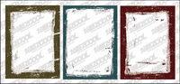 Tinta estilo frontera vector material-2