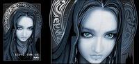 AI CG magia que hacen que el material de las mujeres de vectores-2