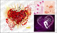 4, la tendencia de los elementos en forma de coraz¨®n de la lucha de material