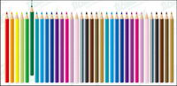 Color pencil vecteur mat��riel