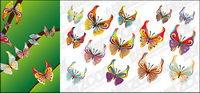 14 Butterfly vecteur mat��riel