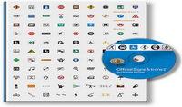 Cl¨¢sica evaluaci¨®n: En los ¨²ltimos 3000 marca logotipo icono material de vectores