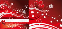 Flottement de la structure en forme de coeur