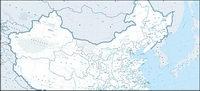 1:400 millions de Chinois carte (la version de transport fluvial)