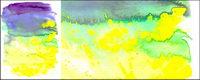 Bevor die Tinte Aquarell Bild Material-023