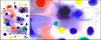 Bevor die Tinte Aquarell Bild Material-020