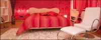 Red Ton der Zimmer Bildmaterial