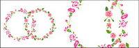 Rose-vecteur mat��riel