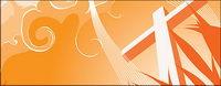 Croix et de la fum��e vecteur mat��riel