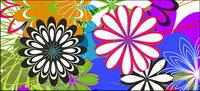 Flores simples vectores