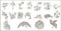 Classique chinois augure dessins