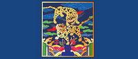 Cl¨¢sico chino auspicioso tigre mapa