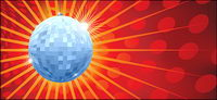 Vector mat��riel disco boule de cristal