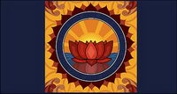 Logo Lotus th��me vecteur mat��riel