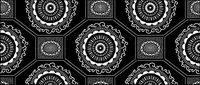 Vector traditionellen gekacheltes Hintergrundmaterial-34