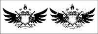 Wings, bouclier, ��p��e, le feu de portefeuille
