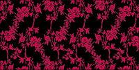 Vector rose dessin de mode