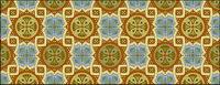 Classic tile mod��le vectoriel-5