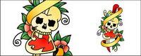 Skulls totem