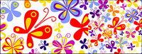 Colorful papillon de fond