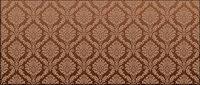 Continental Fliesen Muster Vektor Hintergrundmaterial