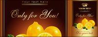 Lemon affiches vecteur mat��riel