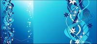 En ligne bleue