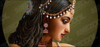 Realist style of the standard Indian beauty