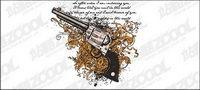 Vector pistolet de roulement et du mat��riel